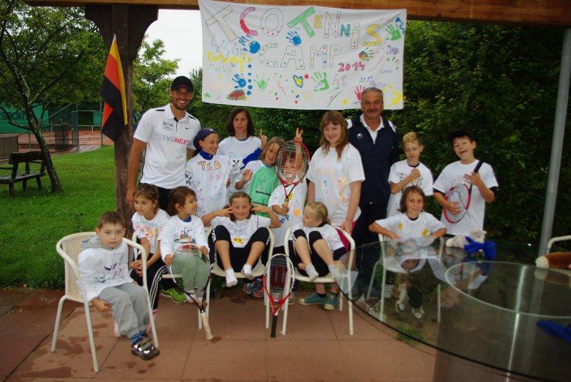 Tenniscamp 2014